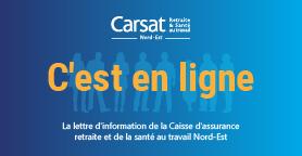 Carsat Nord Est Votre Caisse D Assurance Retraite Et De La Sante